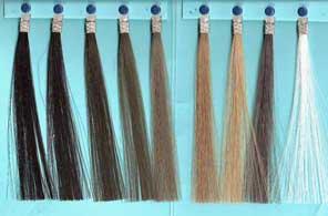 Exoderm Artificial hair implant Nido colors